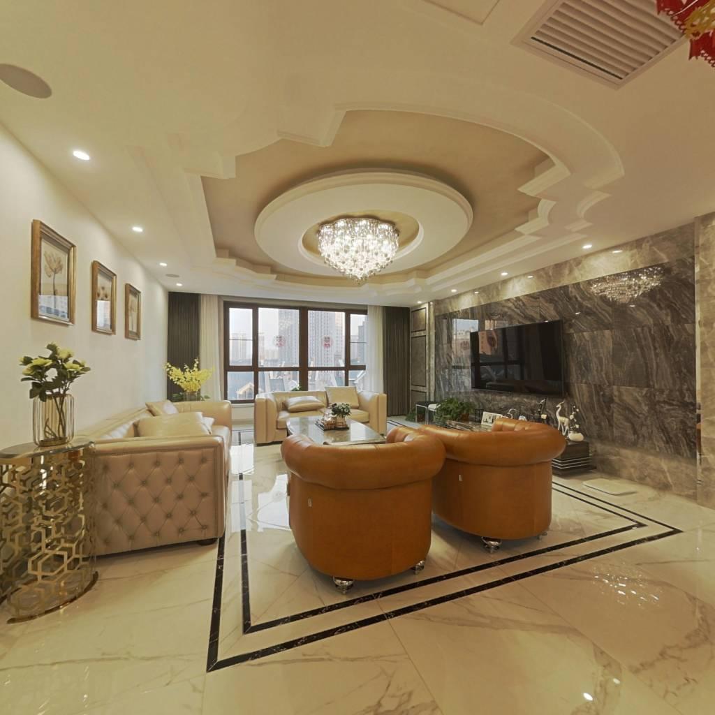 群力汇锦庄园大平层310米850万已满二精装看房方便
