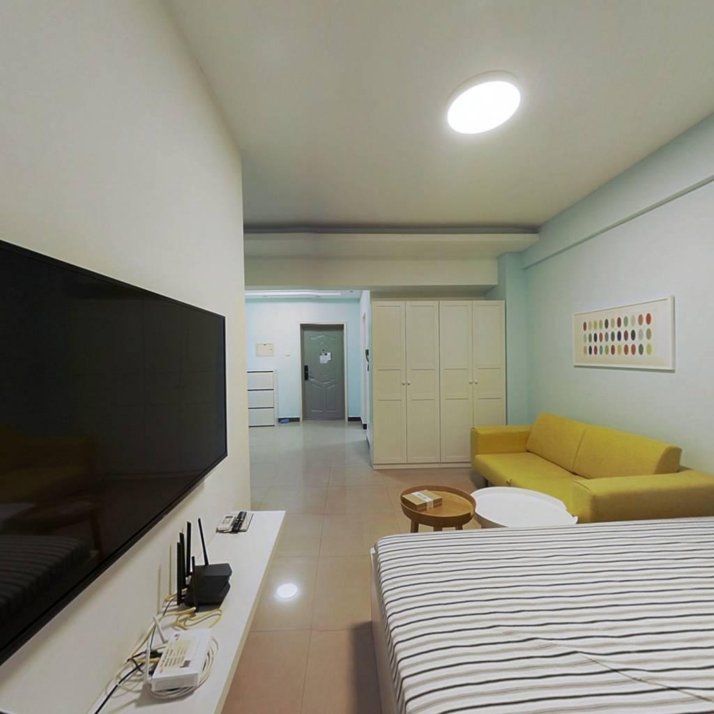 整租·锋泛国际 1室1厅 南卧室图