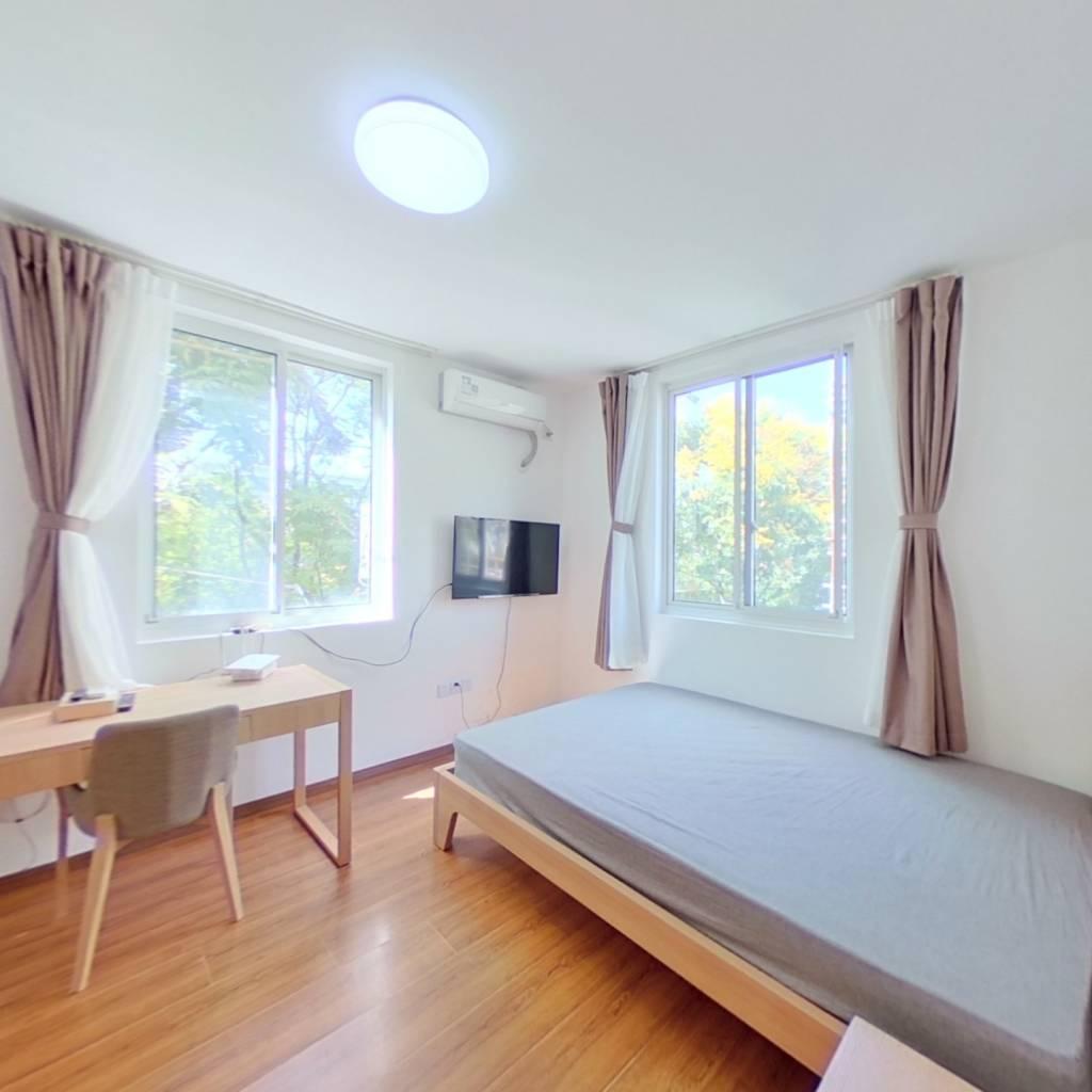 整租·广中三村 1室1厅 北卧室图