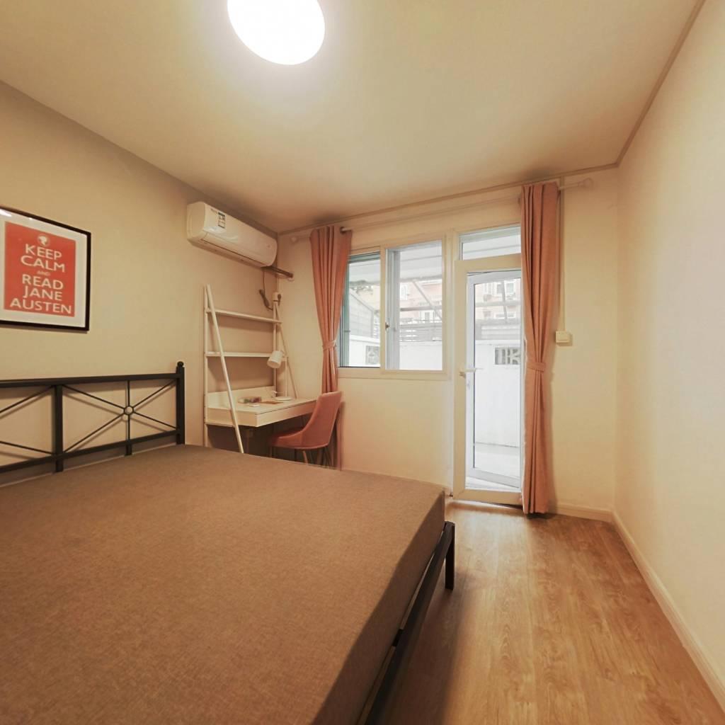 合租·佳宝新村 3室1厅 北卧室图