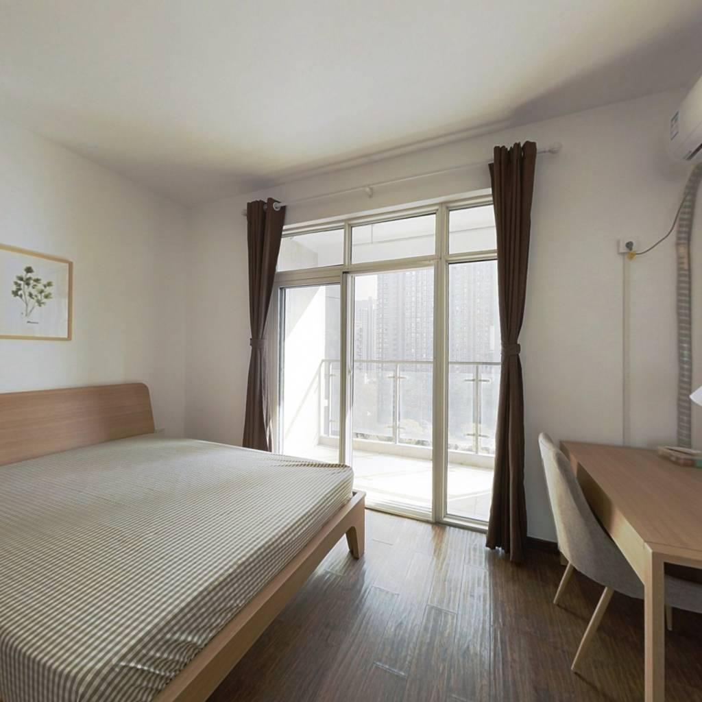合租·楚天都市金园 4室1厅 南卧室图
