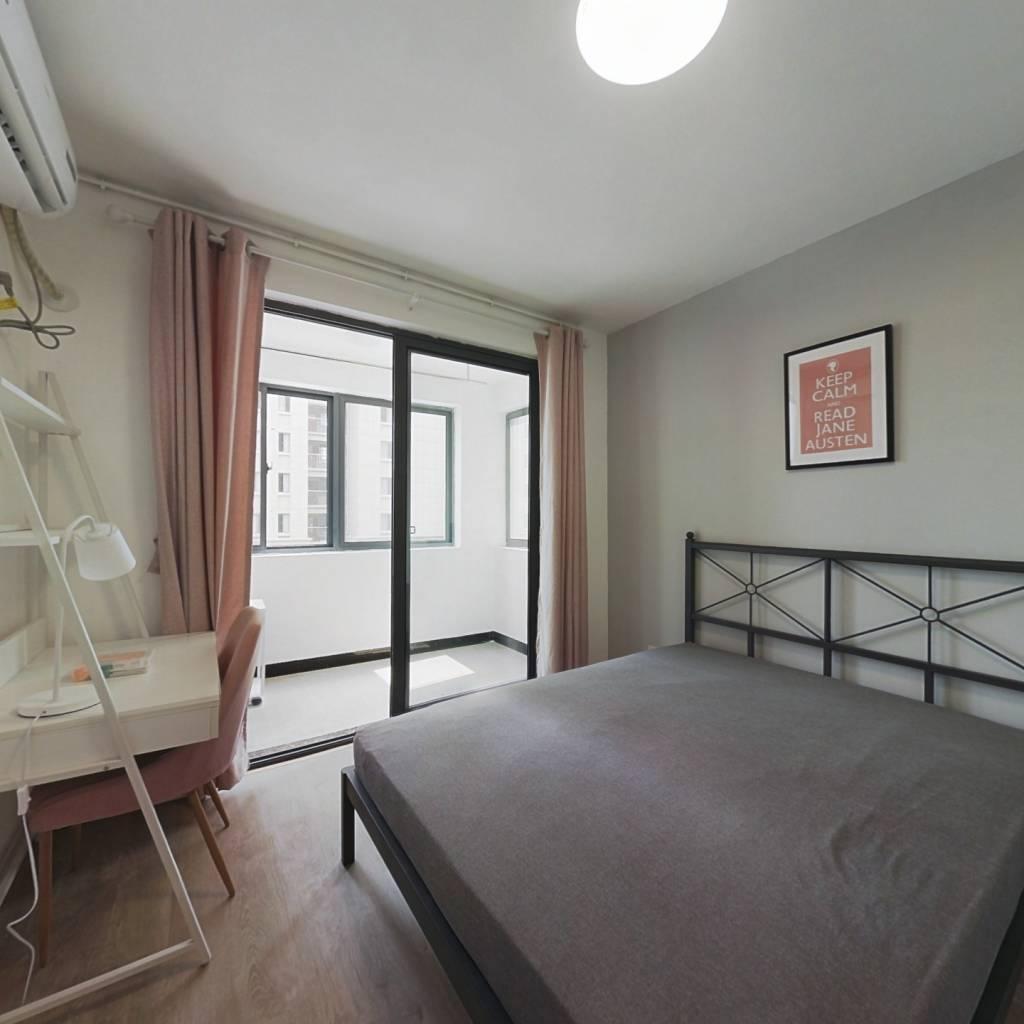 合租·小里新寓 3室1厅 南卧室图