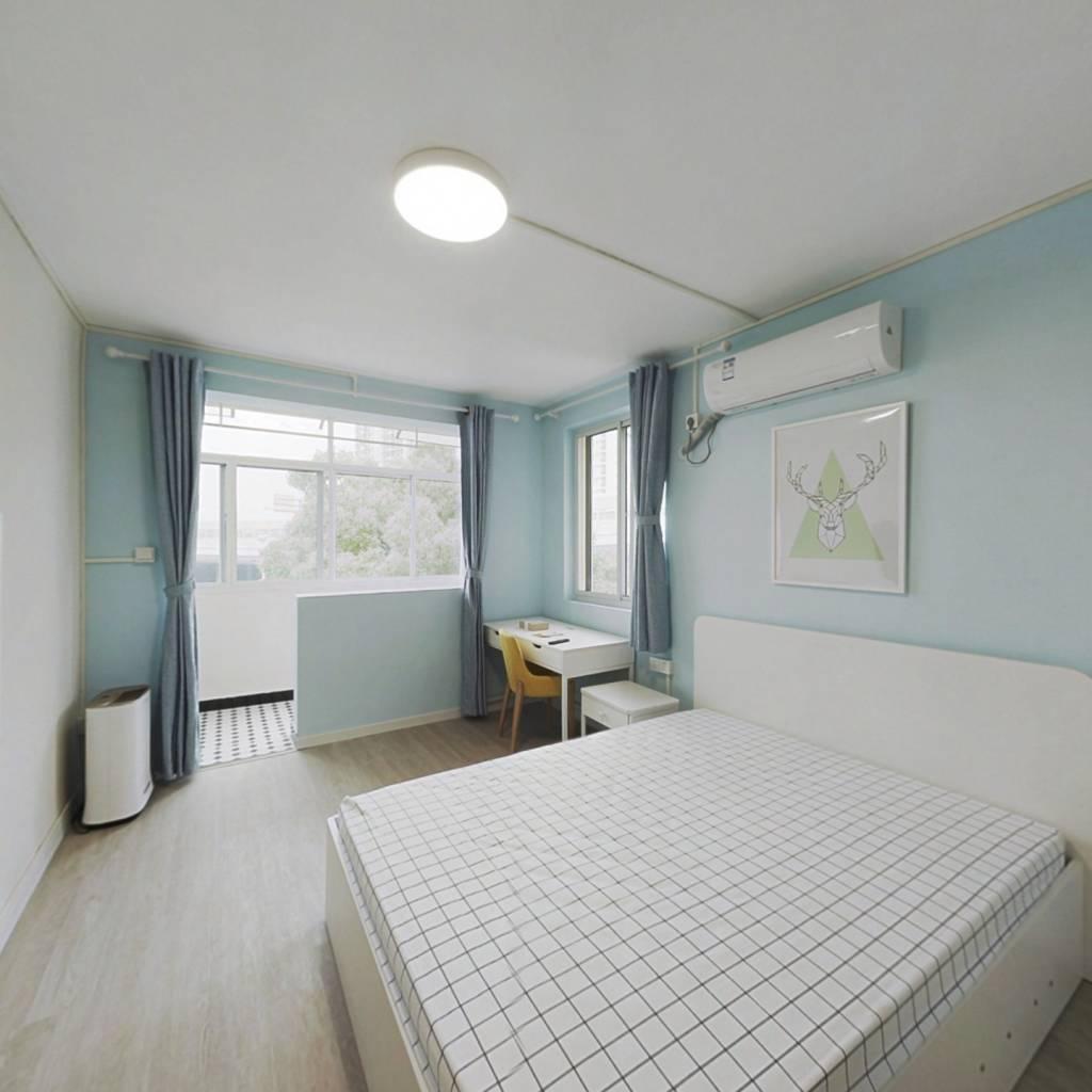整租·梅陇六村 2室1厅 南卧室图