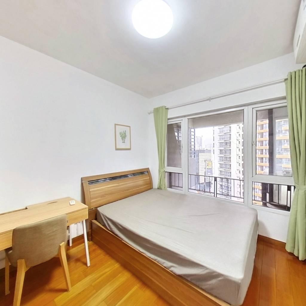 整租·星海名城五期 2室1厅 东南卧室图