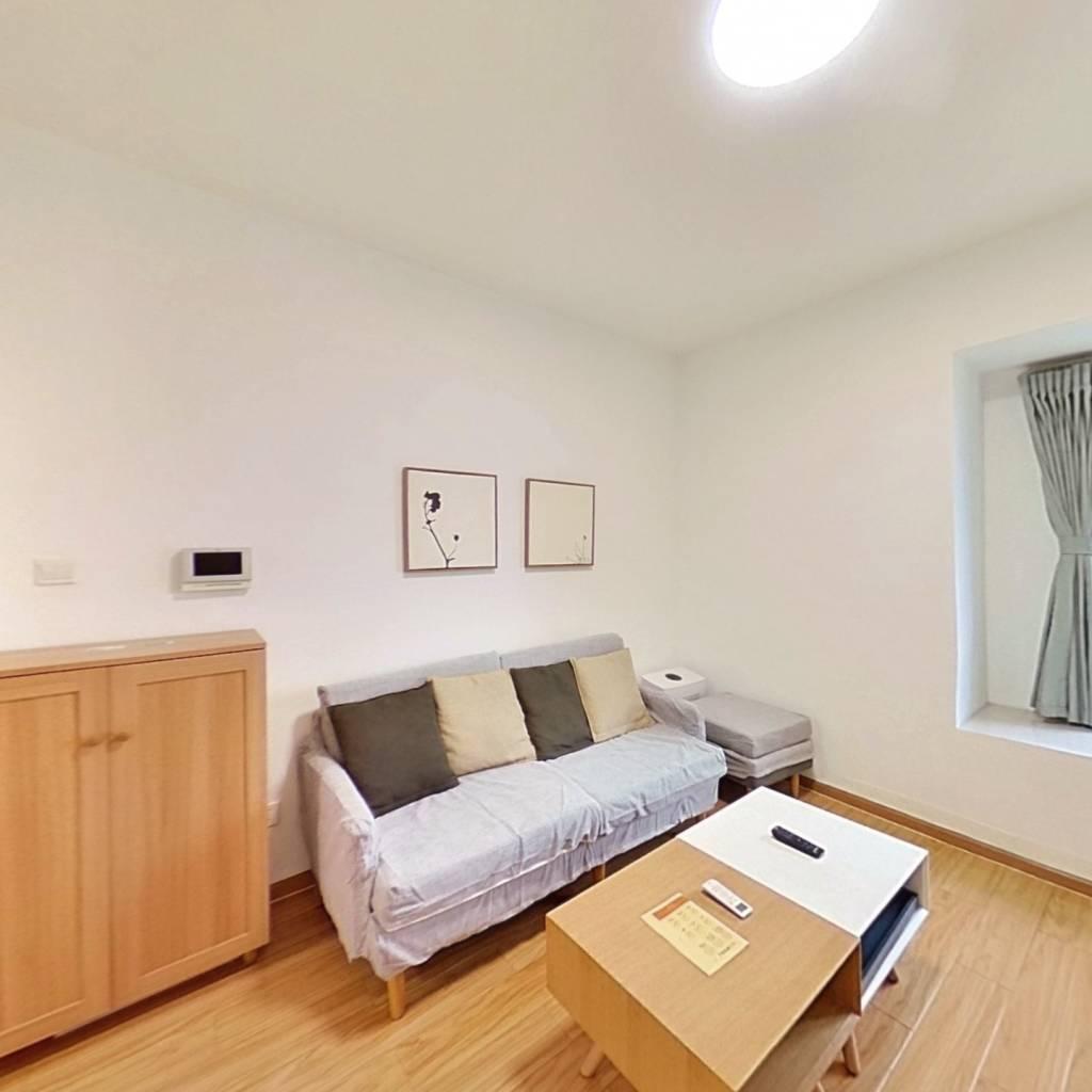 整租·天府豪庭 2室1厅 南卧室图