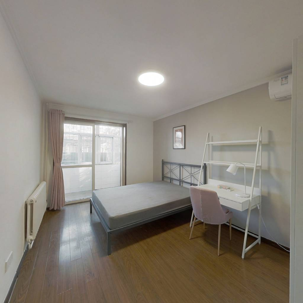 合租·南湖渠西里 2室1厅 南卧室图
