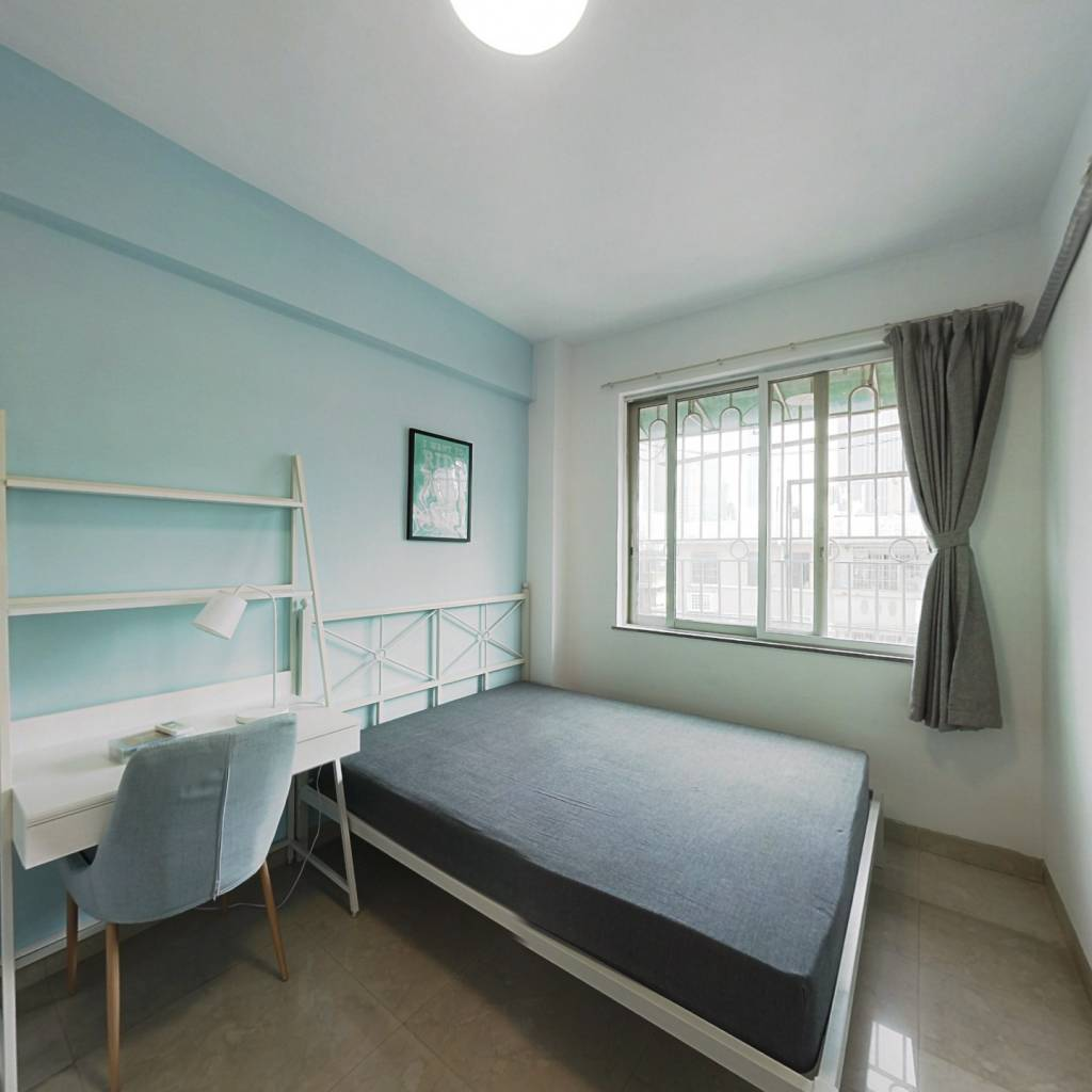 合租·六运小区 4室1厅 东卧室图