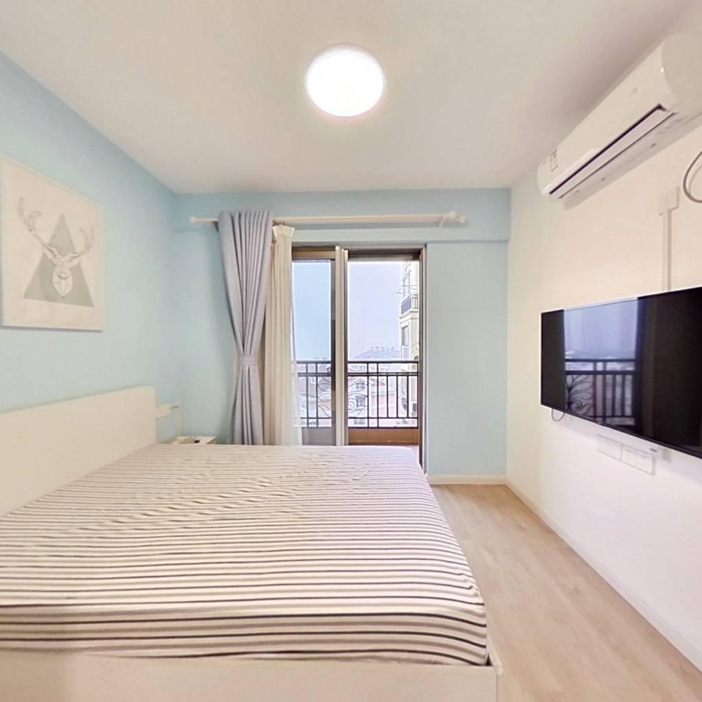 整租·银河湾福苑 1室1厅 西卧室图