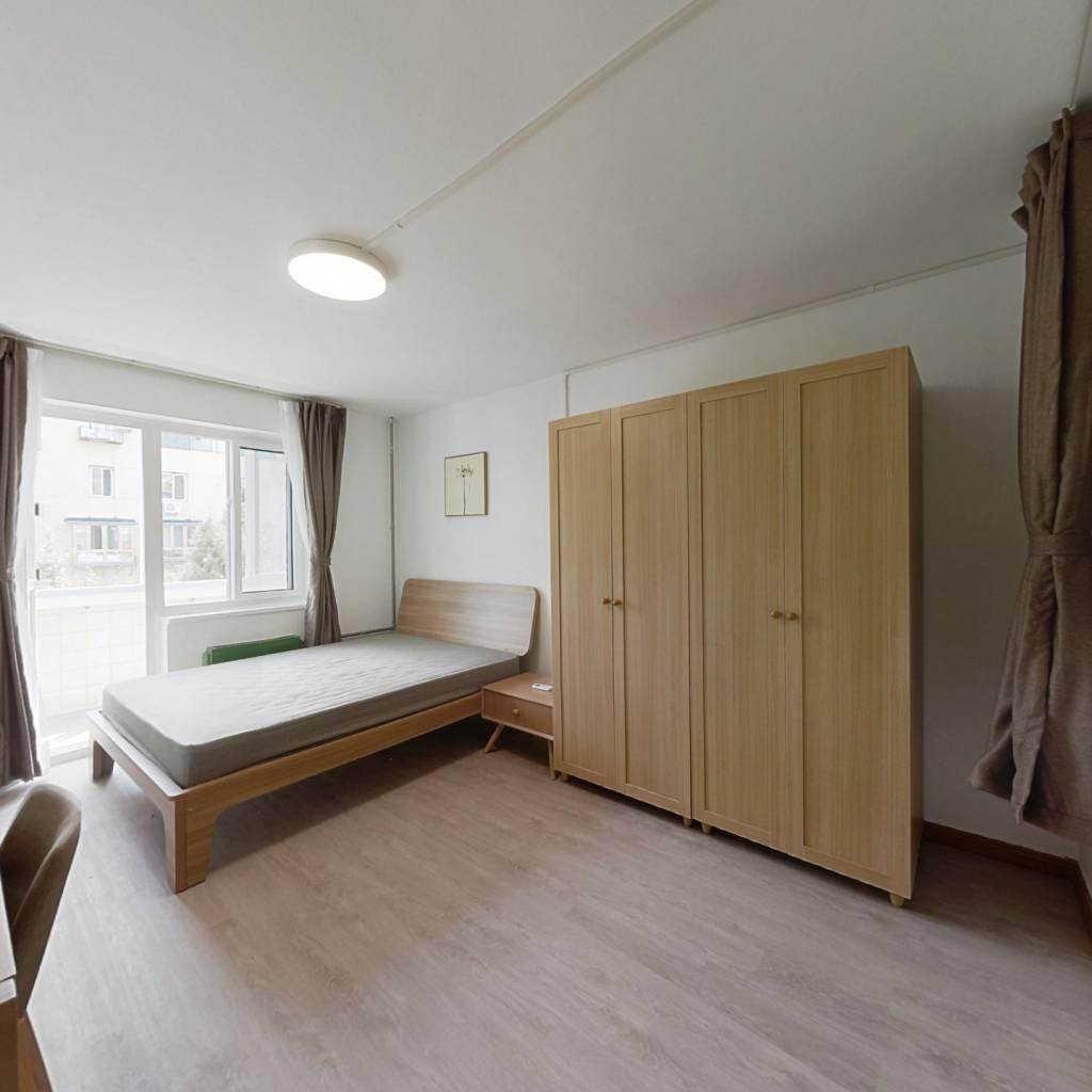 整租·平乐园小区 2室1厅 南北卧室图