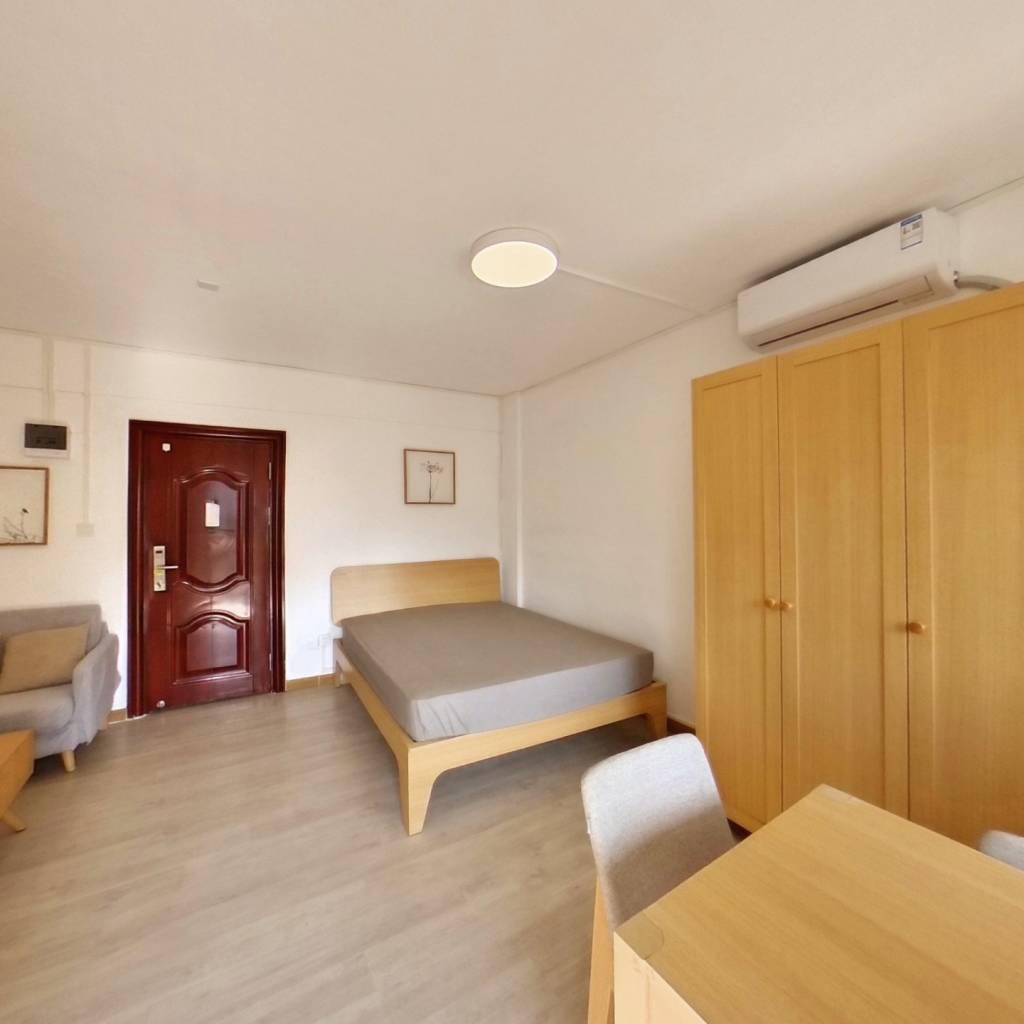 整租·天安公寓 1室1厅 西卧室图