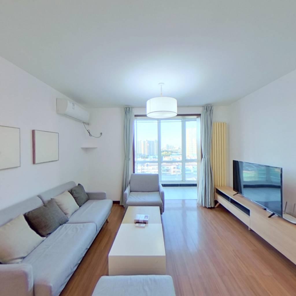 整租·力度家园 2室1厅 西卧室图
