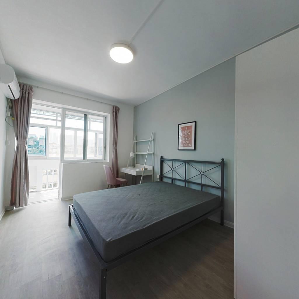 合租·朝晖七区 3室1厅 北卧室图