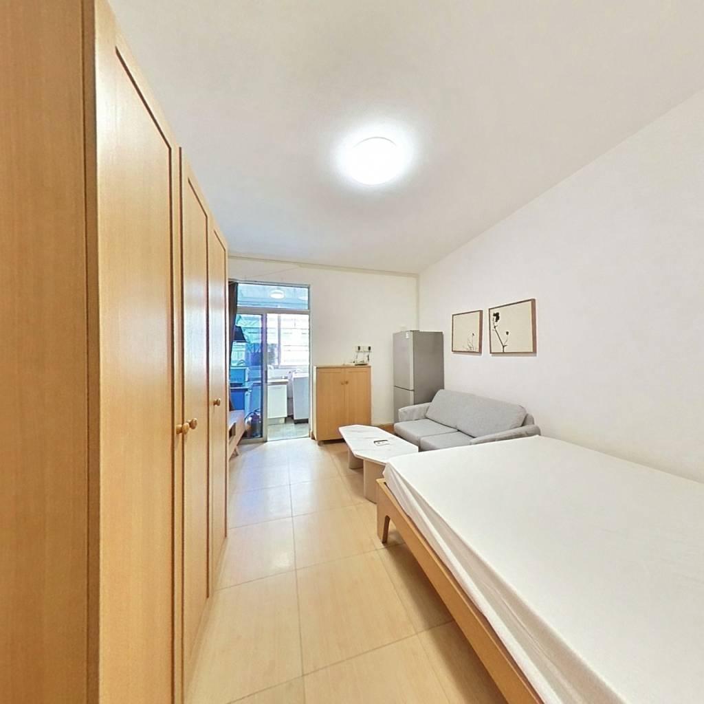 整租·高发公寓 1室1厅 南卧室图