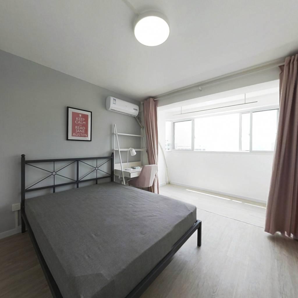 合租·广汇花苑 3室1厅 南卧室图