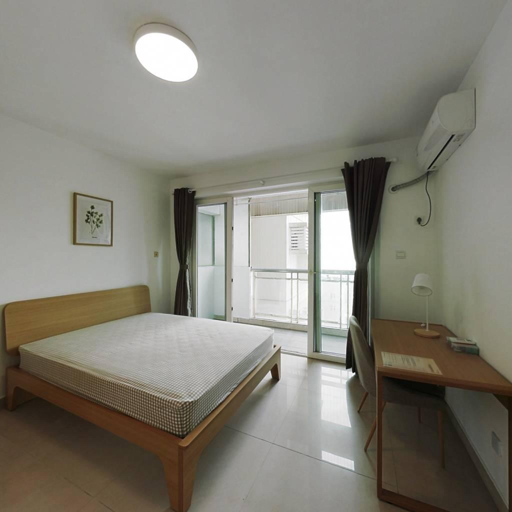 合租·越海家园 4室1厅 西卧室图