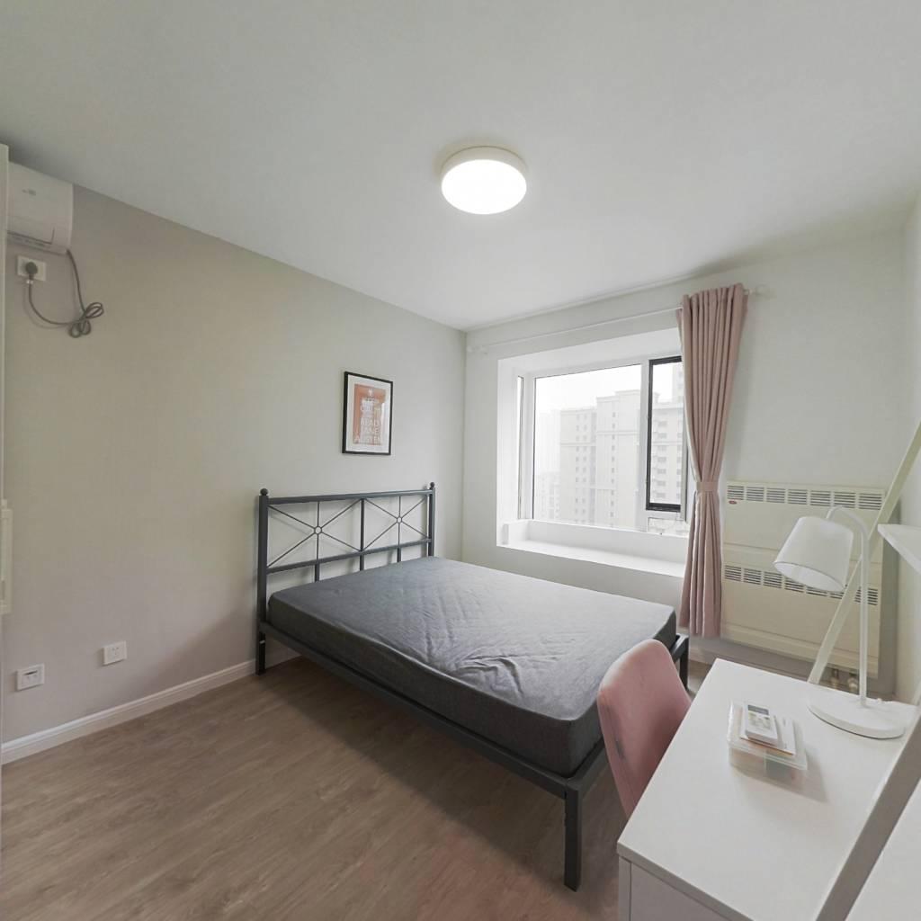 合租·石门新居 3室1厅 南卧室图