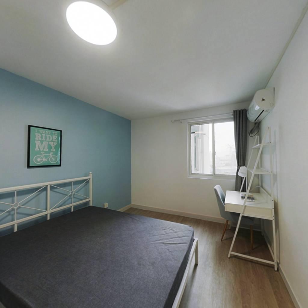 合租·紫薇园 3室1厅 西南卧室图