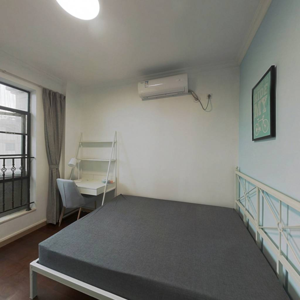 合租·罗马家园 4室1厅 北卧室图