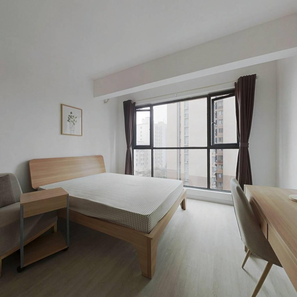 合租·比华利国际城三期 4室1厅 北卧室图