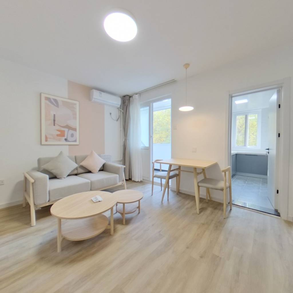 整租·温馨家园 1室1厅 南卧室图