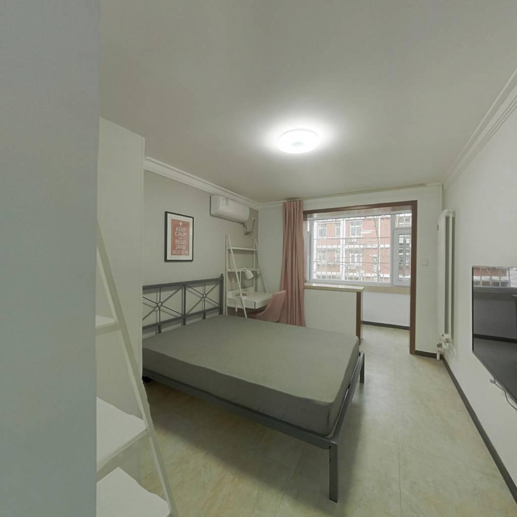 合租·阜北小区 3室1厅 北卧室图