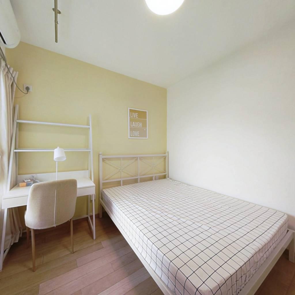 合租·万科魅力之城南区 3室1厅 南卧室图