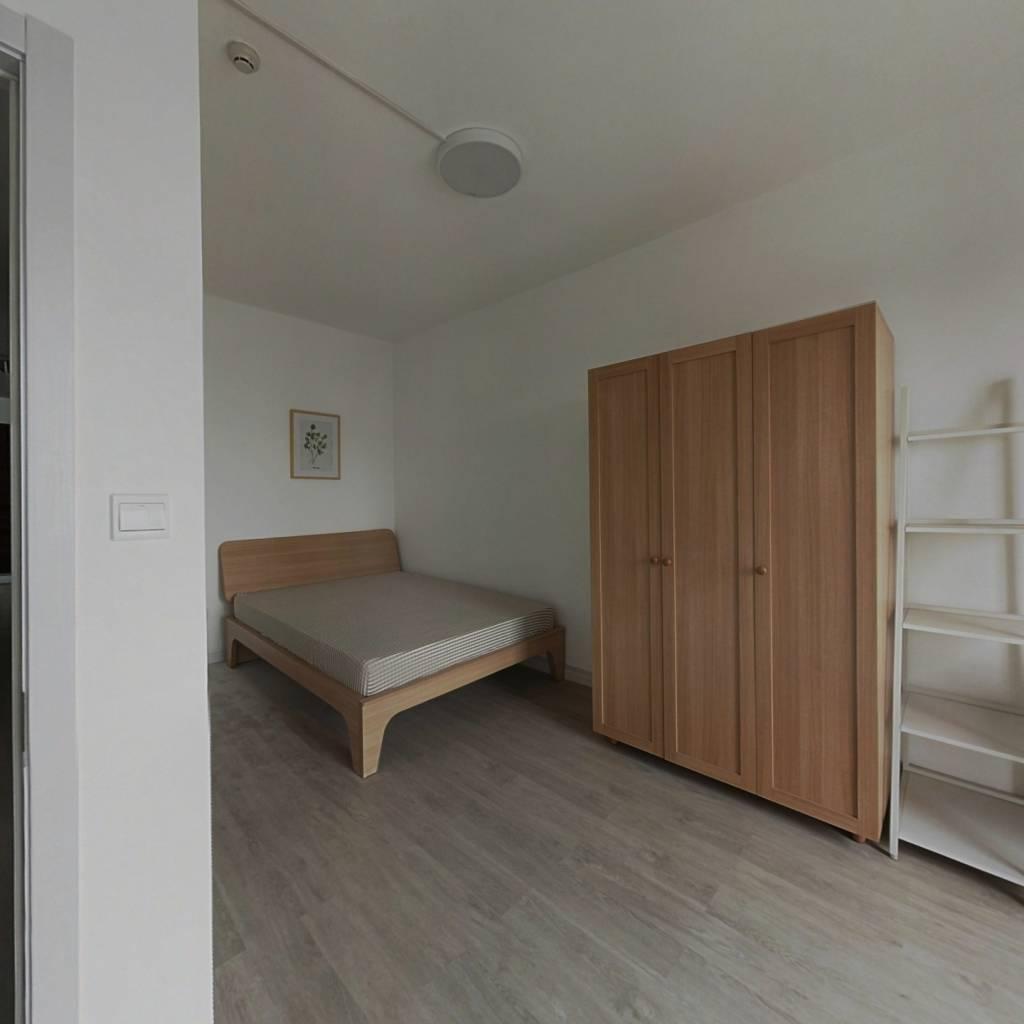 合租·葛洲坝国际广场(江汉) 3室1厅 南卧室图