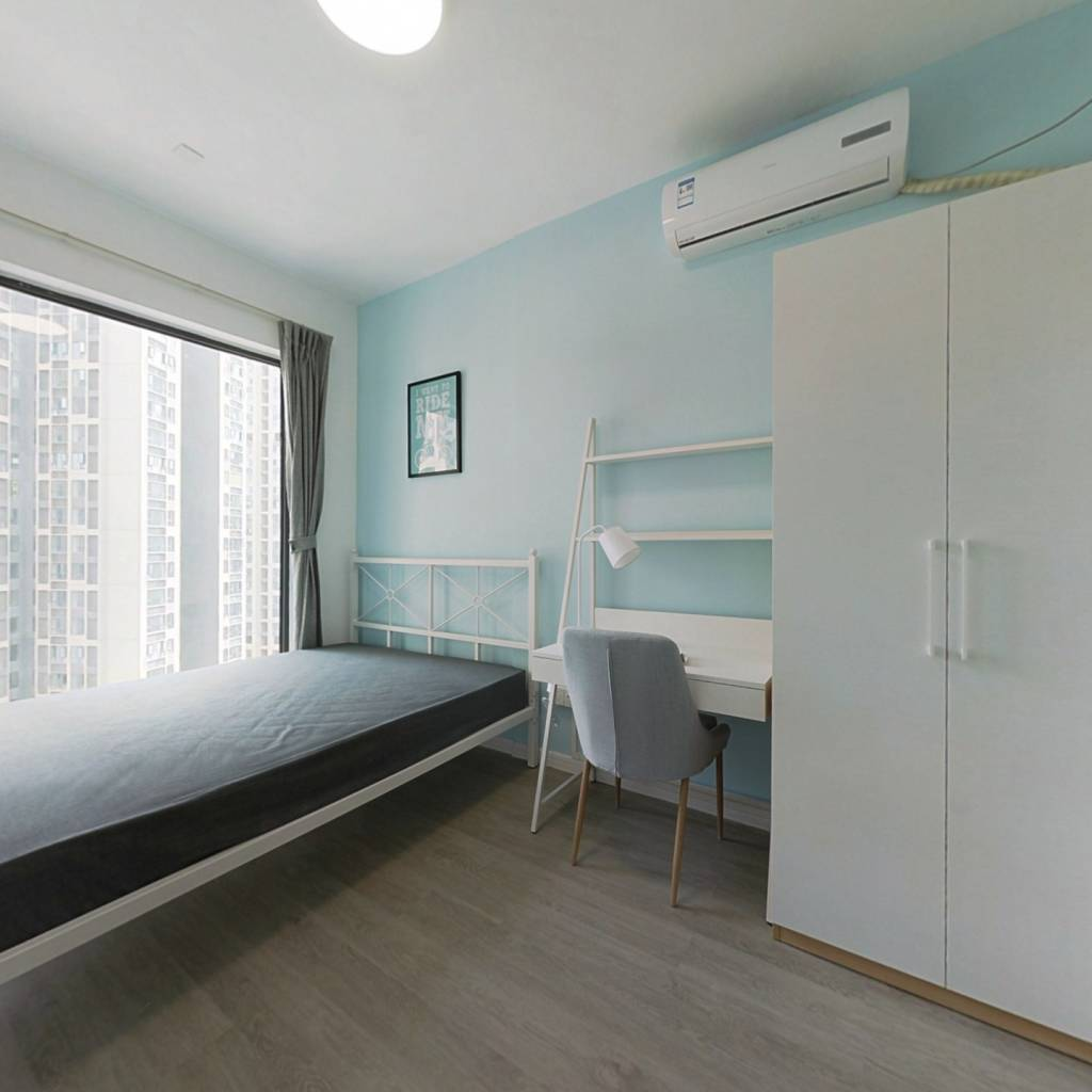 合租·金地天府城 3室1厅 西卧室图