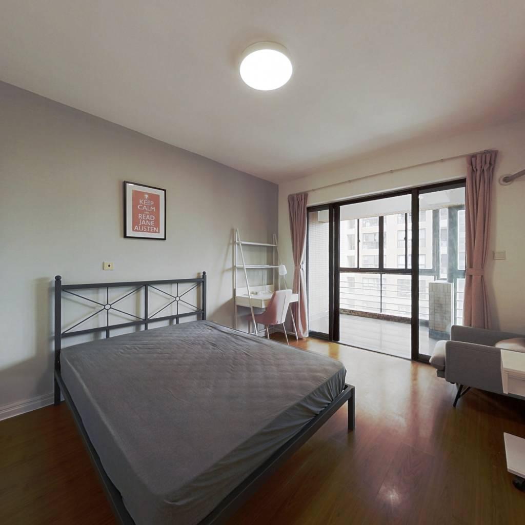 合租·红石中央花苑 4室1厅 南卧室图
