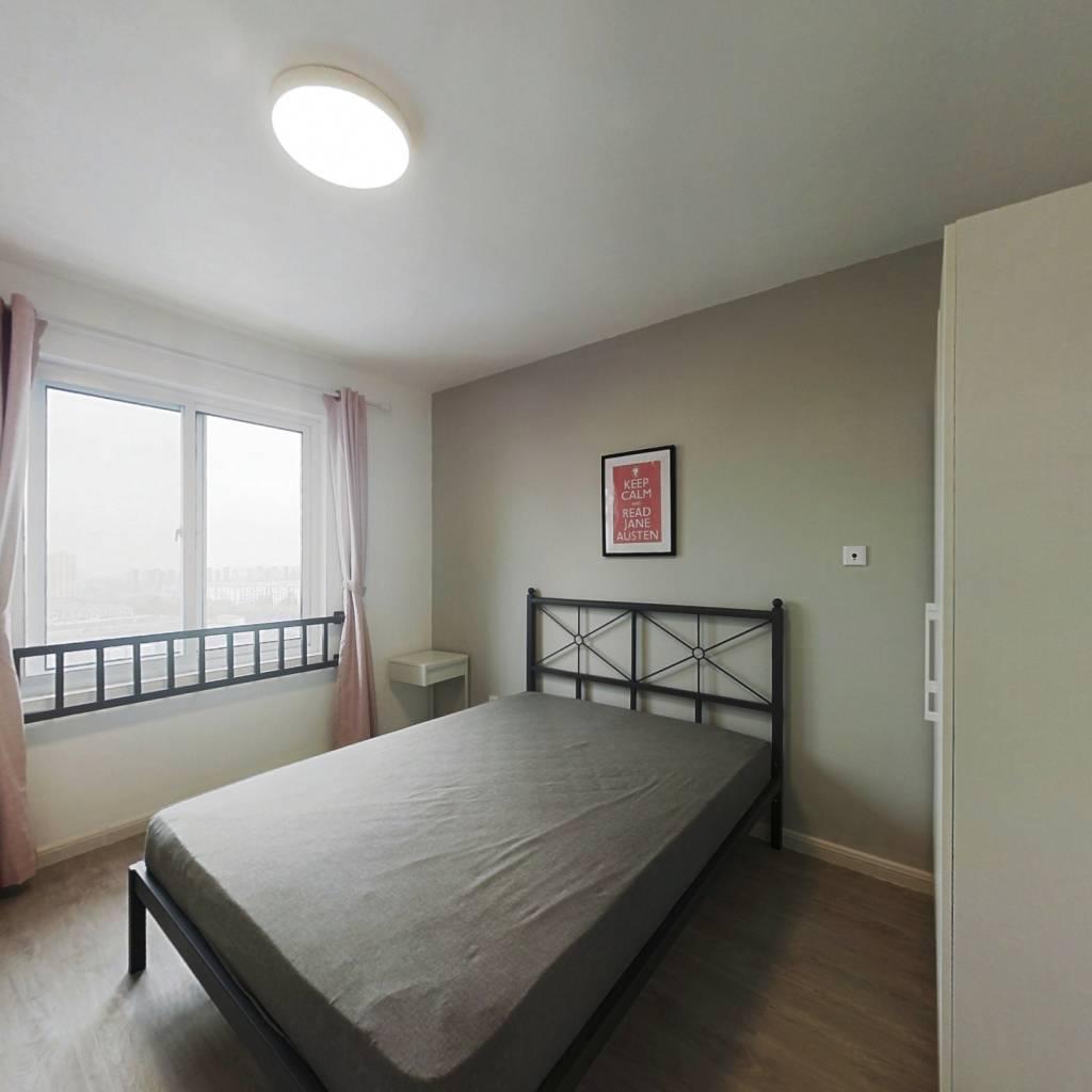合租·金海华城华康佳苑 4室1厅 西卧室图