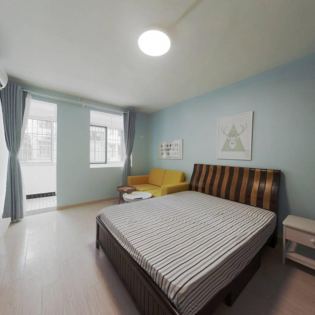 整租·黄家圩 1室1厅 南卧室图