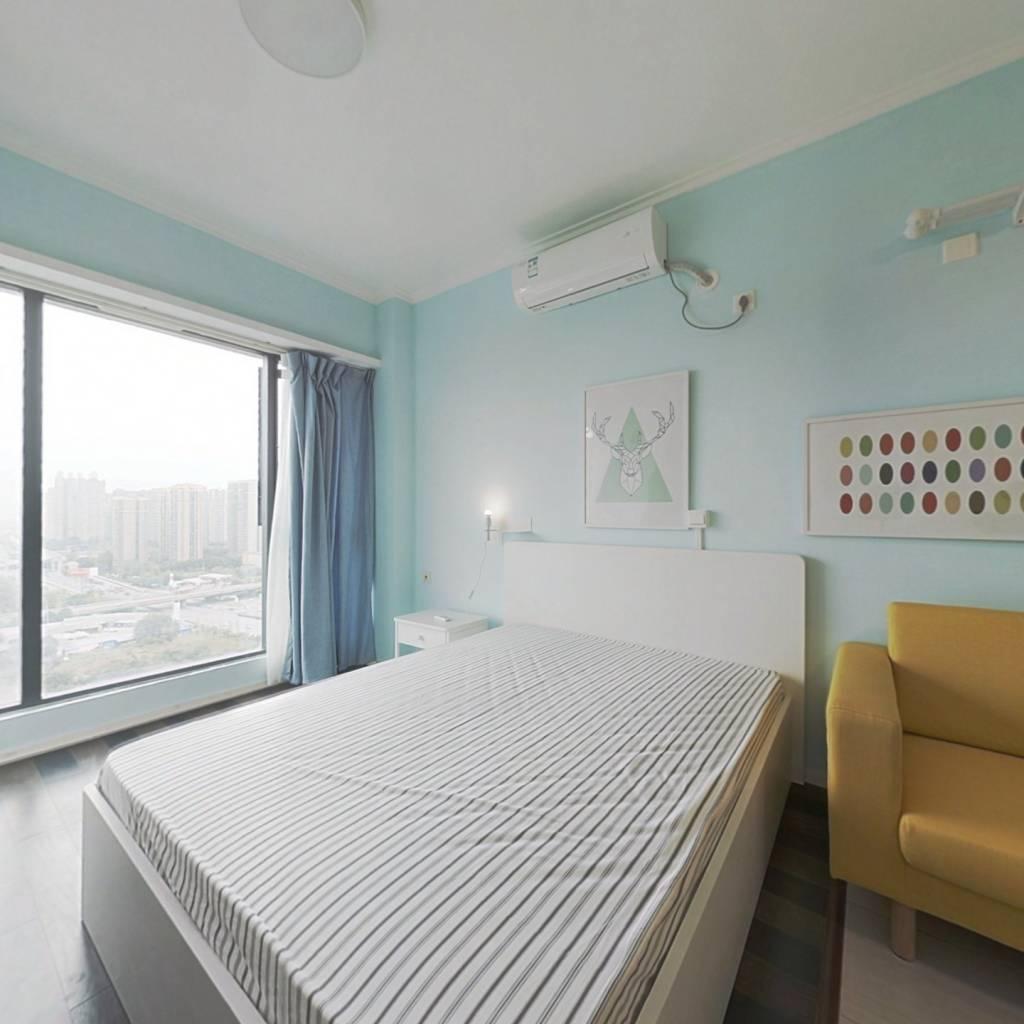 整租·阳光100米娅中心一期 1室1厅 南卧室图