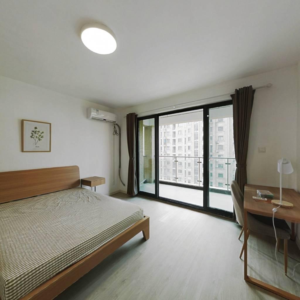 合租·建德国际公寓 4室1厅 西卧室图