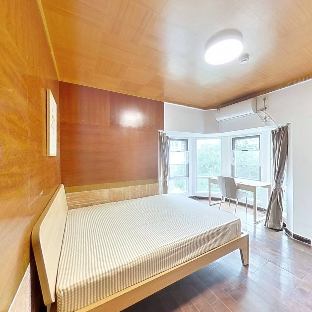 合租·欧陆经典 3室1厅 北卧室图