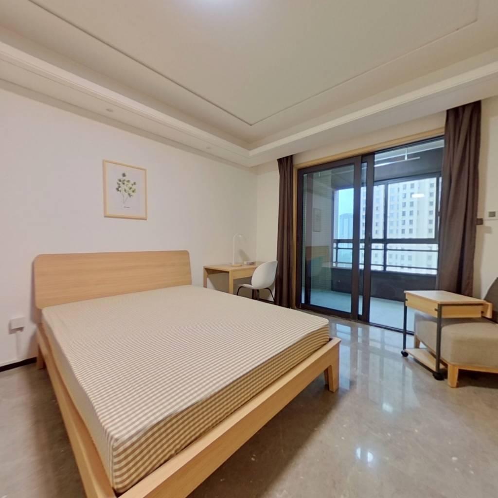 合租·光谷188国际社区 4室1厅 南卧室图