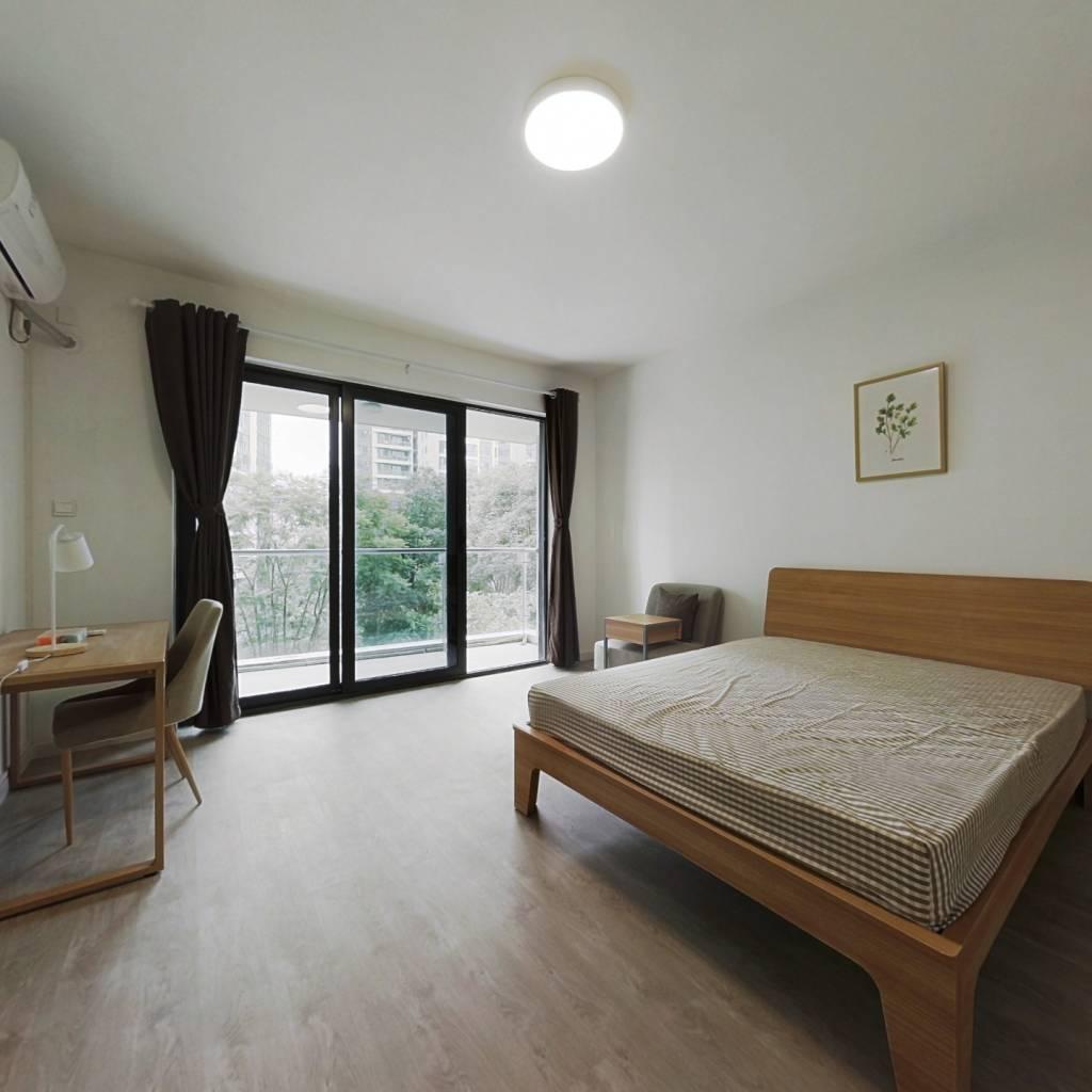 合租·中环丰锦 4室1厅 北卧室图