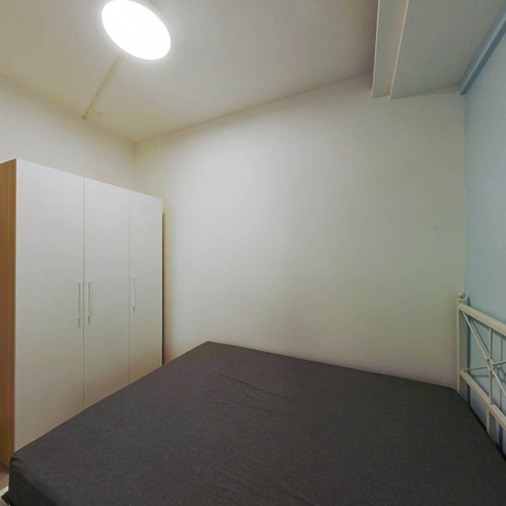 合租·广海花园 4室1厅 北卧室图