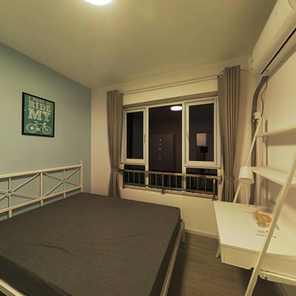 合租·理想城 4室1厅 东卧室图