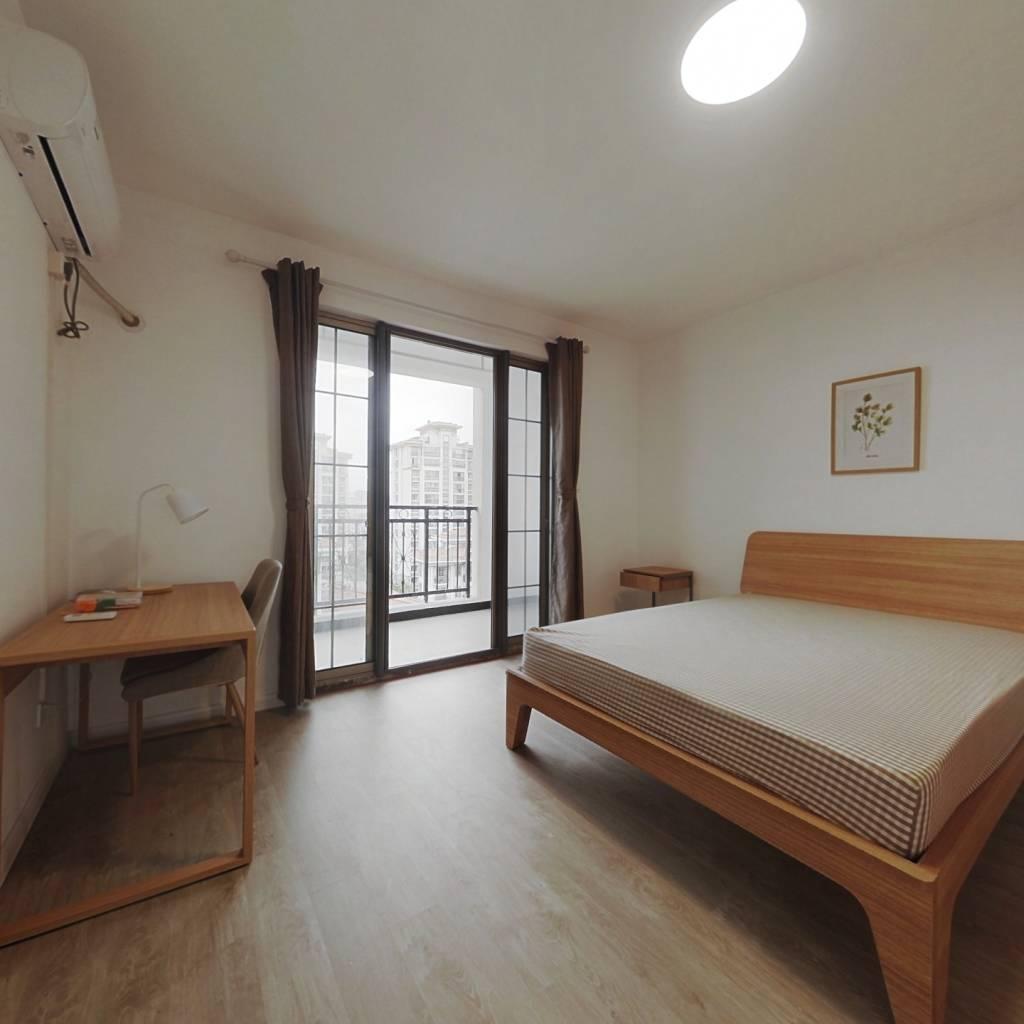 合租·丽都城假日景苑 3室1厅 北卧室图