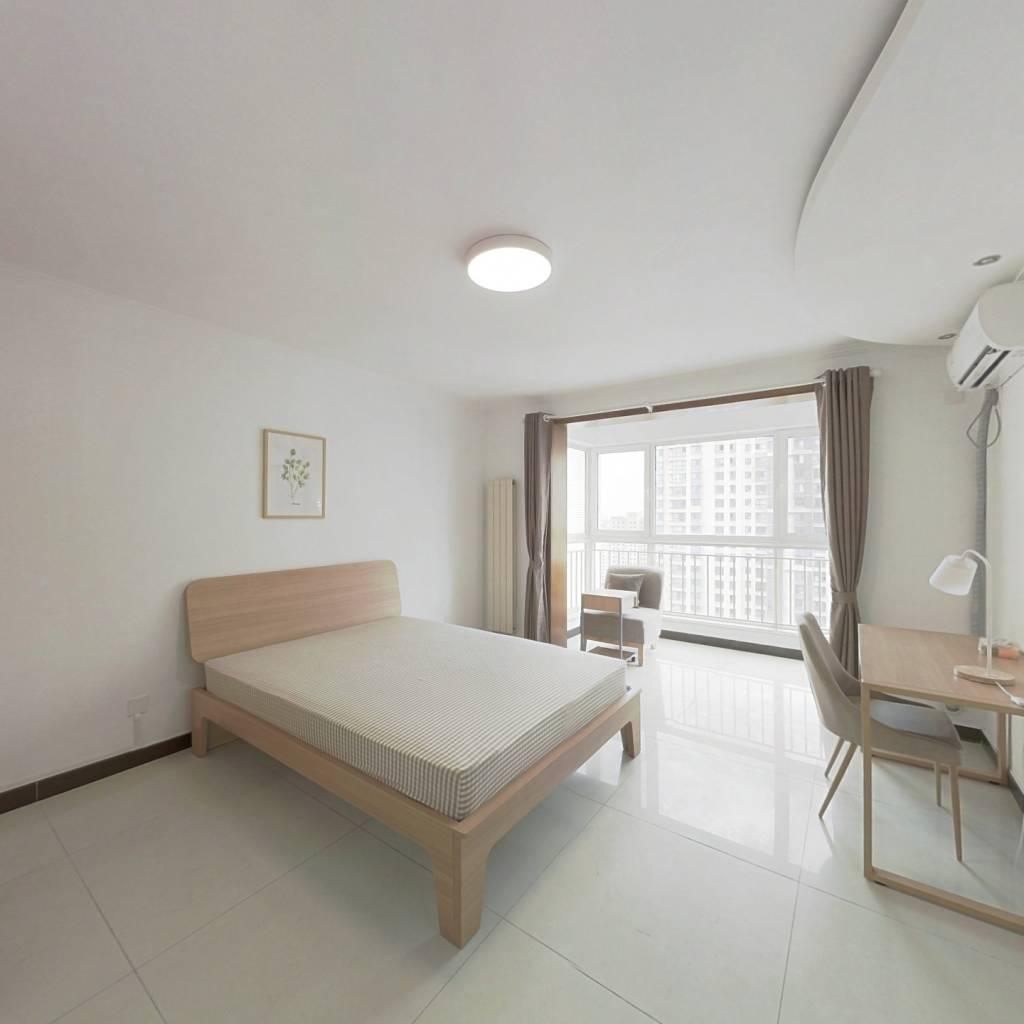 合租·北京新天地一期 4室1厅 北卧室图