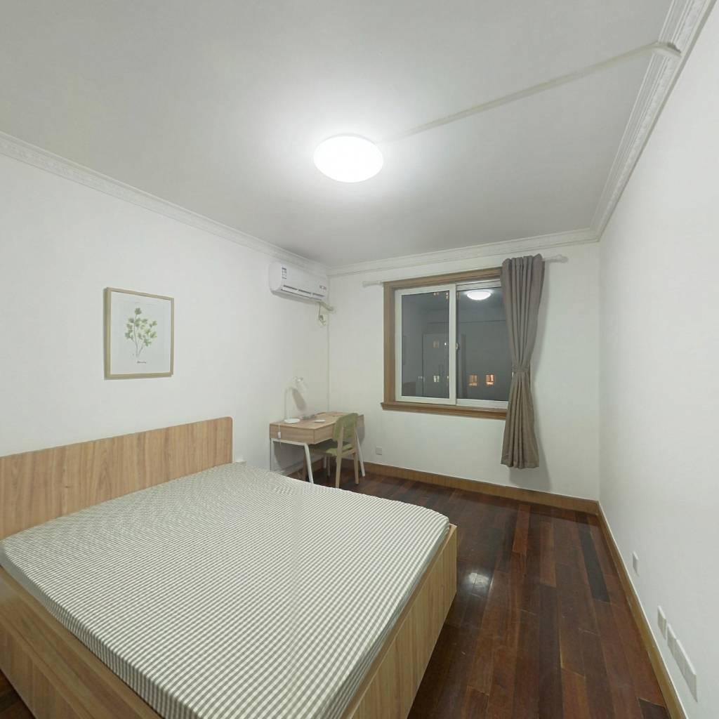 合租·交大公寓 3室1厅 西南卧室图