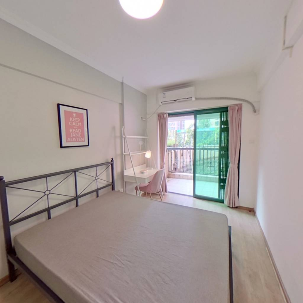 合租·金雅苑 3室1厅 北卧室图
