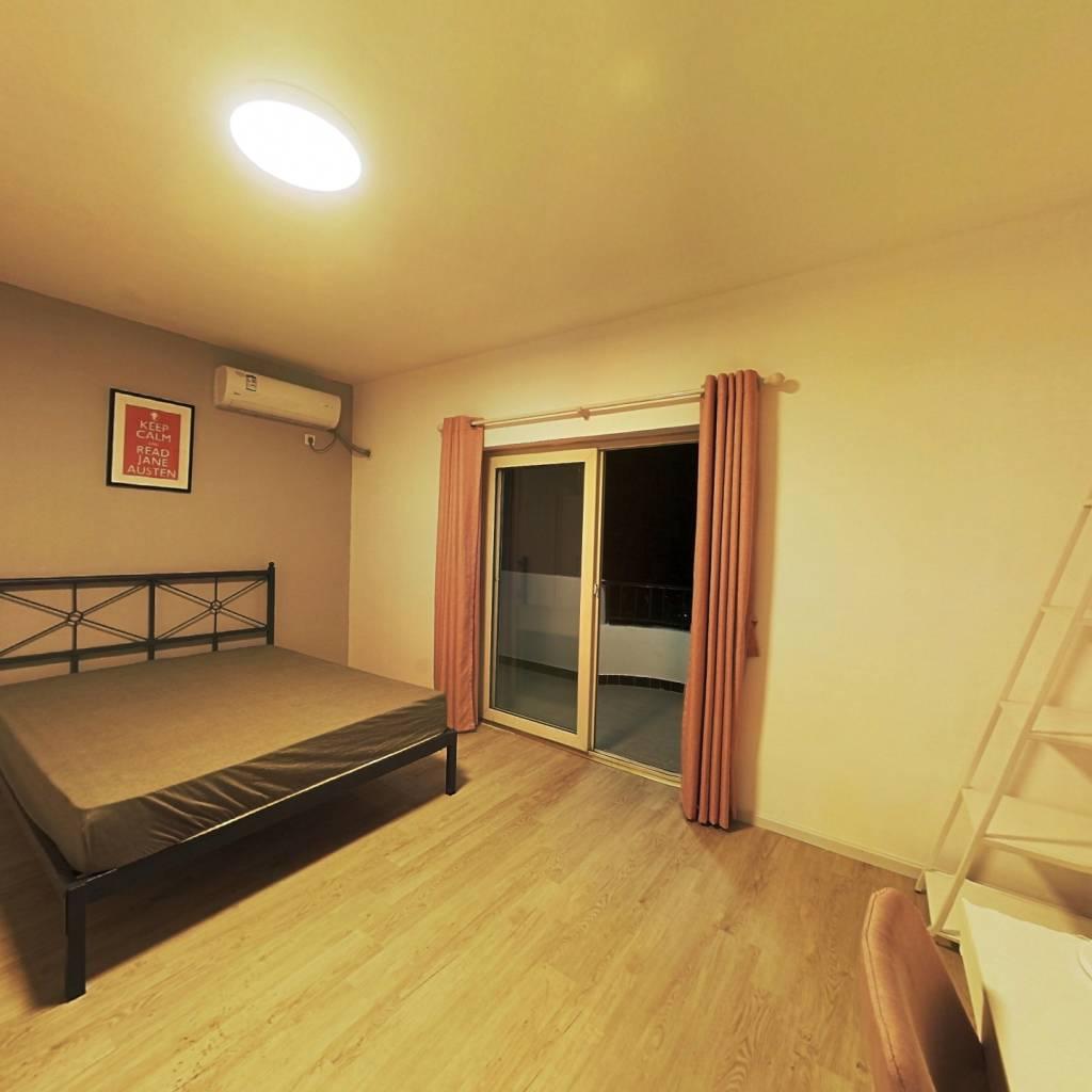 合租·天邑华庭 3室1厅 北卧室图