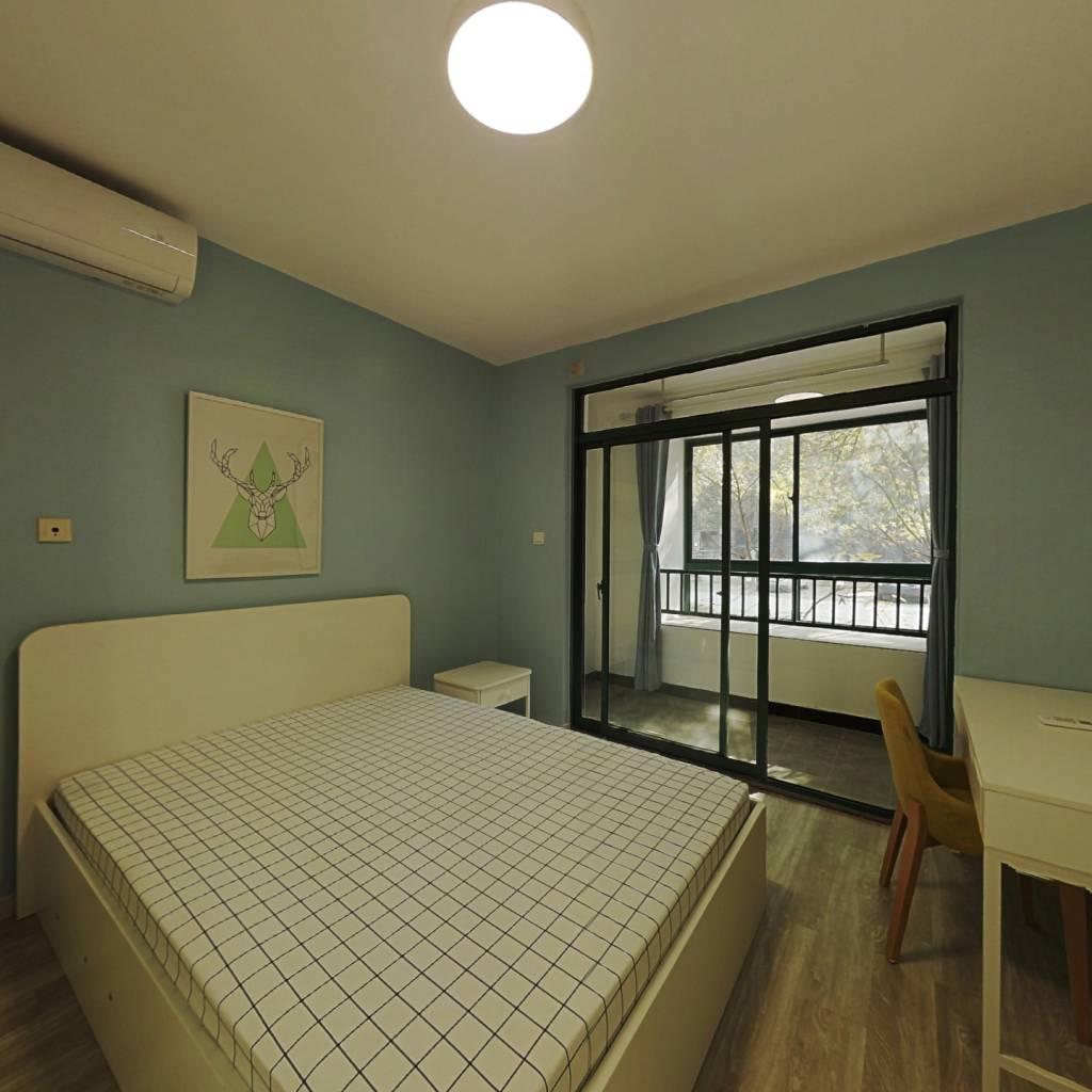 整租·小上海新城 1室1厅 南卧室图