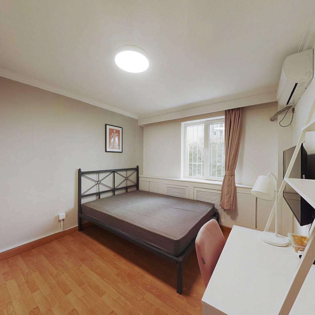 合租·芳城园一区 3室1厅 西南卧室图
