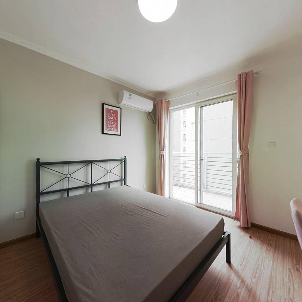 合租·北回归线一期 3室1厅 南卧室图