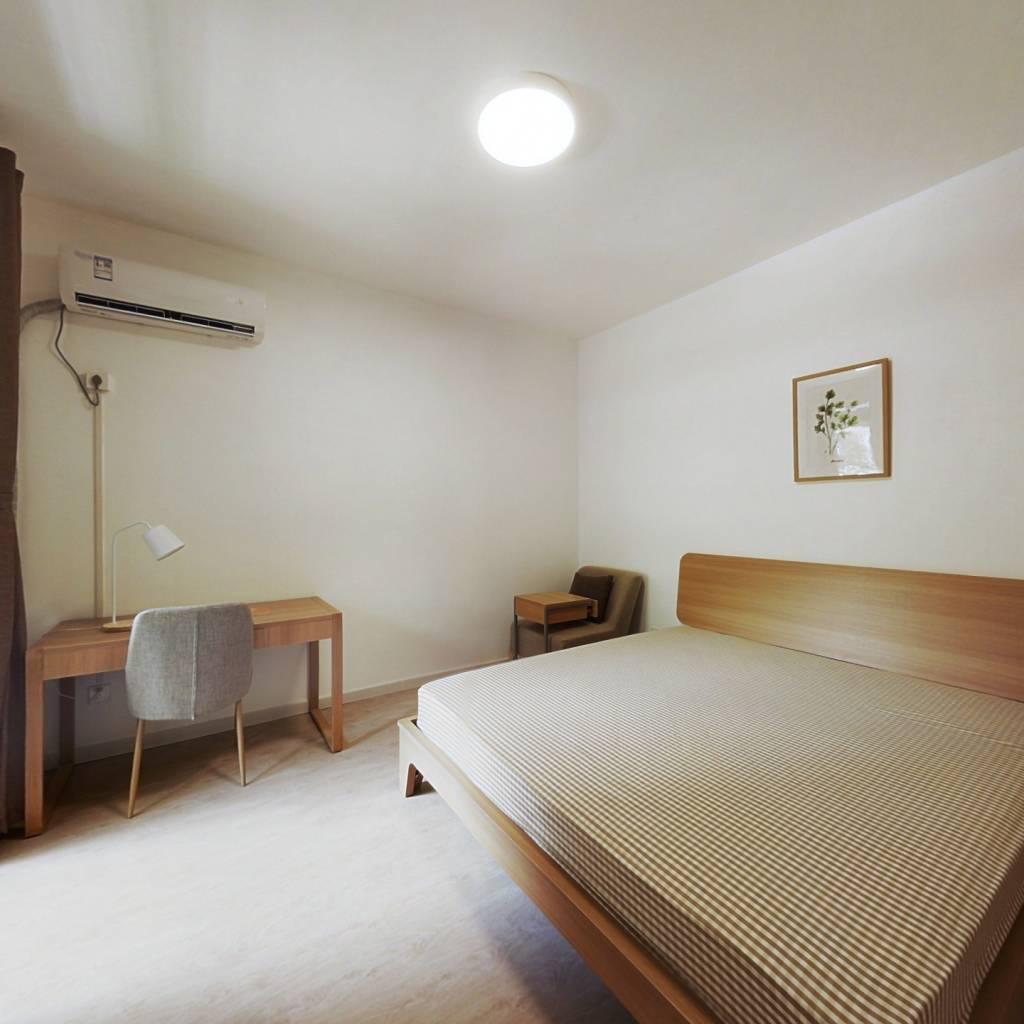 合租·金领国际(公寓) 3室1厅 南卧室图