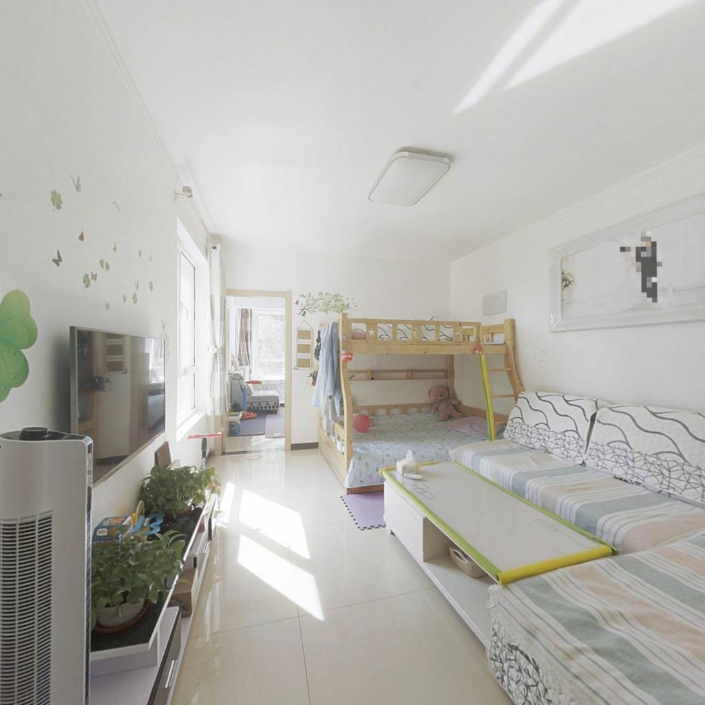 保利花园一室一厅,正规一室户型,全天采光,随时看房
