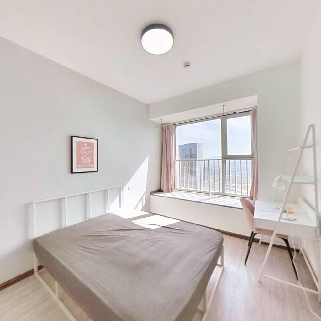 合租·奥克斯时代未来之城 4室1厅 南卧室图