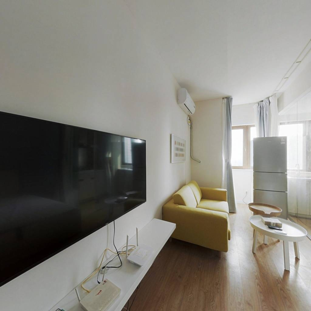 整租·富力津门湖江湾广场 1室1厅 东南卧室图